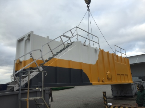 40 Ft Buffercontainer